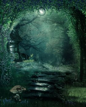 ENCHANTED DREAM bg by Moonglowlilly