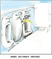 NSFW: The Truth About Urinals by sethness