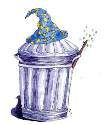 Wizard Trash by LaurenHasCombusted