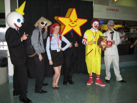 AX 2010 - Fast Food Mascots by Giolon