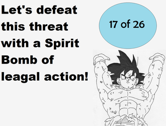 Political Spirit Bomb by The-Angelic-one