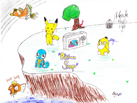 Pokemon Snap by Smileysheep