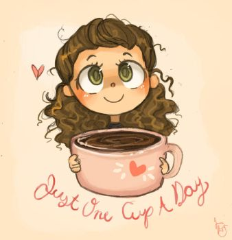 Just One Cup by Chibi-Joey