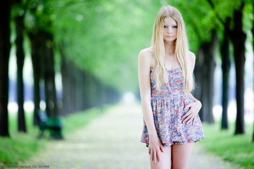 Summertime with Elena (1) by ChristophGerlach