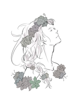 younger viktor w/ flower crown by snarky-gourmet