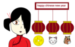 Happy Chinese New Year 2014 (the Year Of Horse) by nogirl70