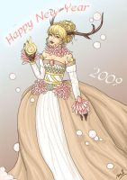 Happy New Year by honeymil