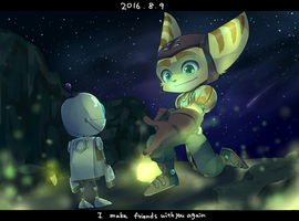 Ratchet and Clank THE GAME by abemaru