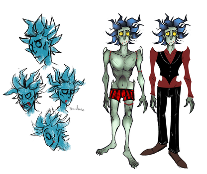 Dramian- character design by The-Elusive-Cat