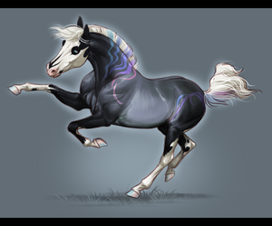 Narcissus - Westwood-stud mini commish by BH-Stables