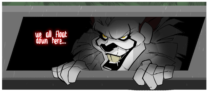 Pennywise the Dancin' Clown by MrGreenlight