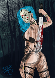 REBECCA (CROW) VOORHEES by twistingxtongues