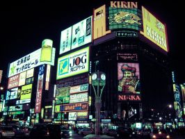 Downtown Susukino by kbrow