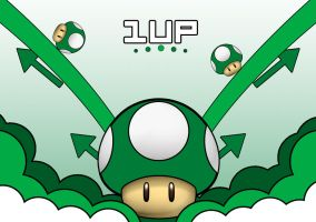 1UP Time by Santa36