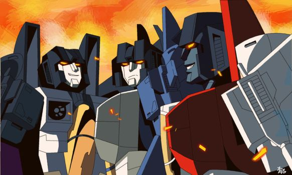 ALL HAIL MEGATRON SEEKERS by Uwall