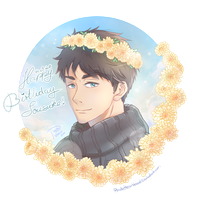 Happy Birthday Sousuke by PirateHeartbeat