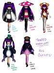 TW: Rue outfits by nightmaresky