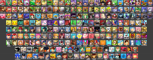 Super smash brothers Solid by Supersmasher1