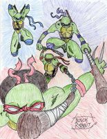 Tribute to the Turtles by Herokip98