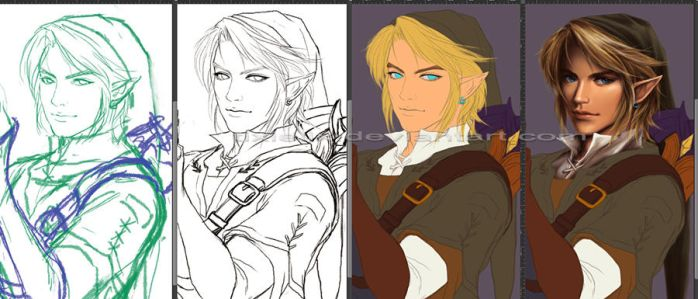 Wip: Link by TixieLix