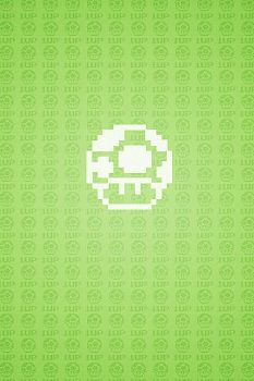 1up wallpaper by donadelliarts