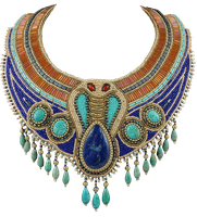 EgyptianNecklace by Lokilanie