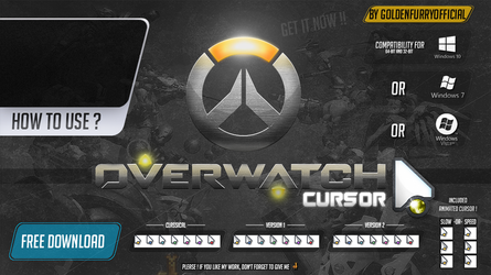 Overwatch Cursor HD by GoldenFurryOfficial