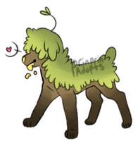 Grass pooch auction (CLOSED) by prinprinadopts