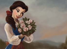 Belle - Fan Art by SaucyMuse