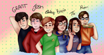 Friend Dating Sim by Cheezitss