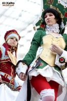 Trinity Blood - The Empress by Another-Rose