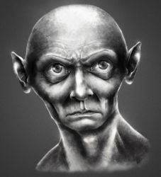 Smeagol - personal vision by JamesArty