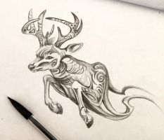 24- Stag Design by Lucky978
