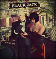 Welcome to Our Casino! | Lee and Anna | Tekken by zoellisrus