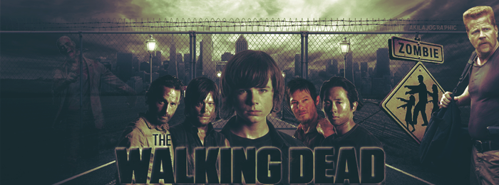 The Walking Dead by AkilajoGraphic
