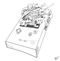 Super GameBoy Color Tribute by DRLM