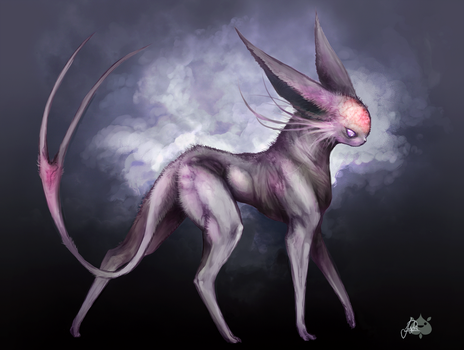 Espeon my Style by JollyPiik