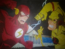 Clash at Flash Museum by kryptonator