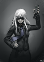 My name is Jormungand by GreenFireArtist