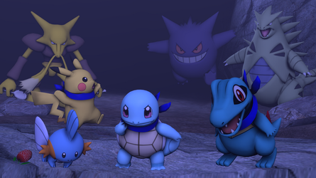 [SFM] - PMD Blue Rescue Team Cover by DreamCasterPegasus