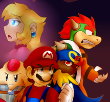 Mario RPG by BaconBloodFire