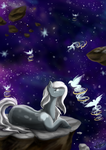 Stars and Birds by ScarletsFeed