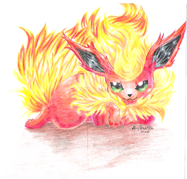 Flareon by bowseganonlink