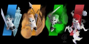 Castle Crashers - Turtles In Time by Zer0Mechan1sm