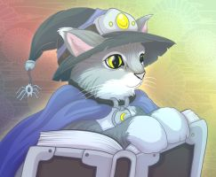 Cat Witch by mogstomp