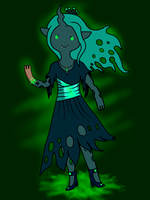 Queen Chrysalis in Adventure Time Style by TurboSolid