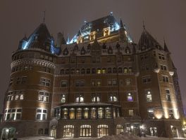 Chateau Frontenac Facade by Art-hax