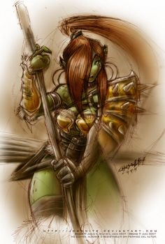 Orchid - The Warchief by jesonite