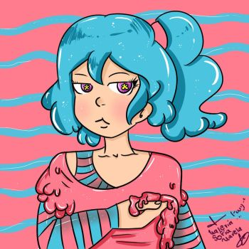 bubble gum-redraw by ValeChY