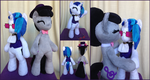 Anthro Hearth's Warming Vinyl Scratch and Octavia by One-Violet-Rose